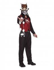 Voodoo Kostume med slange til mænd