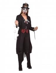 Voodoo Hekse kostume med slange til kvinder