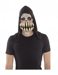 Latex maske enormt tandsæt