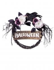 Halloween dørkrans 44 x 36 x 54 cm