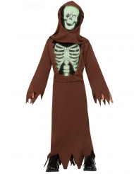 Skelet kostume munk til børn