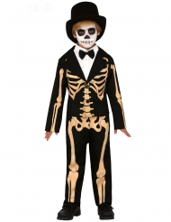 Skelet Kostume elegant til drenge