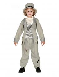 Spøgelse Kostume Ung Brudgom grå til drenge