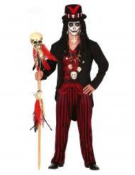 Voodoo præstekostume Halloween til mænd