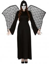 Dødens Engel Kostume med Vinger til kvinder