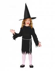 Hekse Kostume med hat til piger
