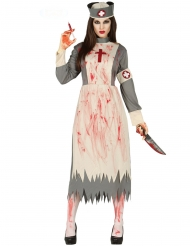 Zombie Kostume Vintage Sygeplejerske til kvinder