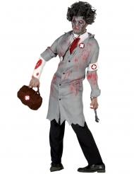 Zombie Kostume Vintage Læge til mænd