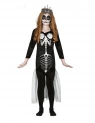 Skelet Kostume Havfrue til piger