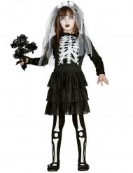 Skelet Kostume Brude til piger
