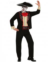Dia de los Muertos Kostume til mand
