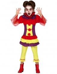 Ond Klovn Kostume farverig til piger
