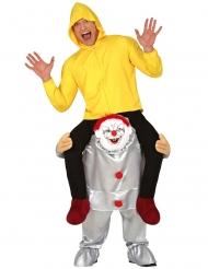 Psyko klovn Carry me Kostume til voksne