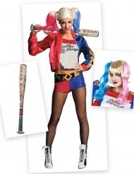 Kostume Kit Harley Quinn™ til kvinder