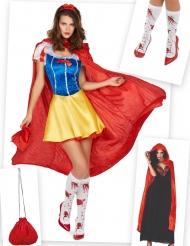 Kostume Kit Blodig Princesse til kvinder