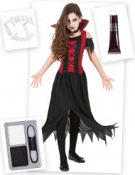 Kostume Kit Vampyr til piger