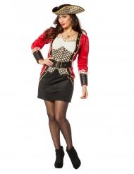 Luksus pirat kostume til kvinder