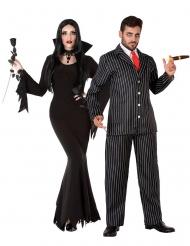 Familien Gotik voksen kostume til par