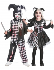 Harlekin Kostume Par Blodigt til børn