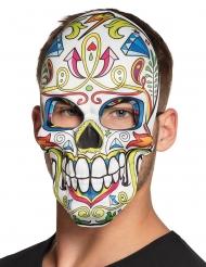 Dia de los Muertos maske hvid