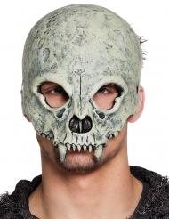 Kranie skelet halvmaske
