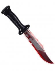 Blodig morder kniv 33 cm