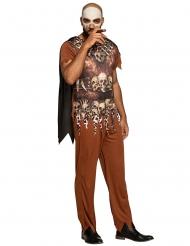 Voodoo stamme kostume til mænd
