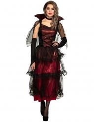 Elegant vampyrkostume til kvinder