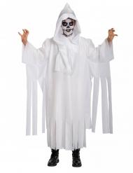 Spøgelse kostume skelet til børn