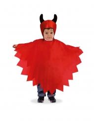 Djævel kappe og hætte til børn