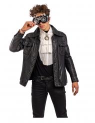 Steampunk briller grå til voksne