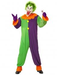 Psyko harlekin kostume til voksne