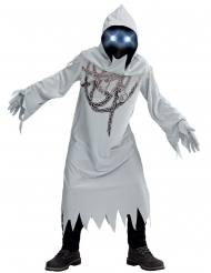 Skelet kostume med kæder til børn