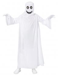 Spøgelses kostume klassisk hvid til børn