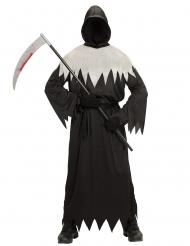 Dødens kostume sort og hvid til voksne