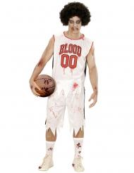 Zombie kostume basketball spiller til mænd