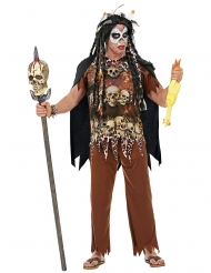 Voodoo præst kostume til mænd½