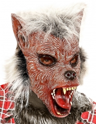 Varulv maske med pels til børn