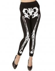 Skelet leggings til kvinder