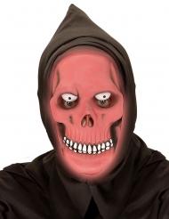 Dødens maske rød selvlysende til voksne