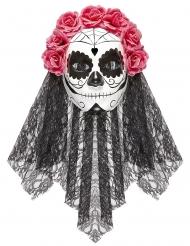 Dia de los Muertos fuldmaske til voksne