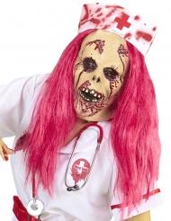 Zombie sygeplejerske fuldmaske