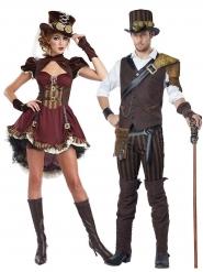 Kostume Par Steampunk til voksne