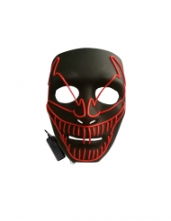 LED maske den onde klovn til voksne
