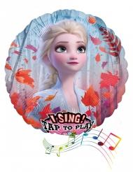 Musikalsk aluminium ballon Frost 2™ 71 cm