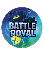 8 Paptallerkner Battle Royal 23 cm