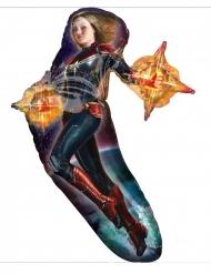 Aluminium ballon Captain Marvel™ 68 x 93 cm