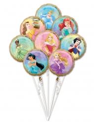 Buket med 8 balloner Disney Princesses™