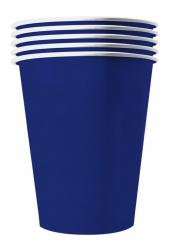 20 Amerikanske kopper miljøvenlig karton 53 cl - blå