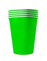 20 Amerikanske miljøvenlige kopper karton 53 cl - grøn